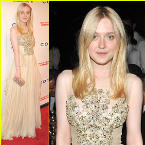 Dakota Fanning: DKMS Linked Against Blood Cancer Gala