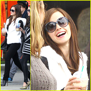 Emma Watson: 'Bling Ring Is Going Great'