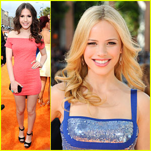 Halston Sage & Erin Sanders: Kids Choice Awards 2012