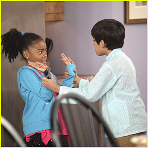 Skai Jackson: Sticky Fingers!