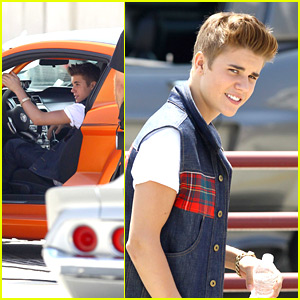 Justin Bieber Finishes Up 'Boyfriend' Video