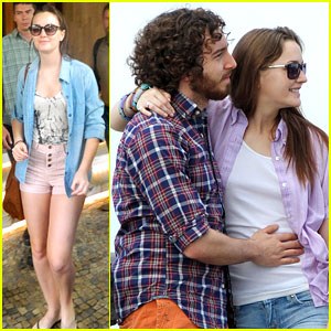 Leighton Meester: Rio with Aaron Himelstein!