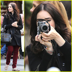 Lily Collins: Paris Photographer