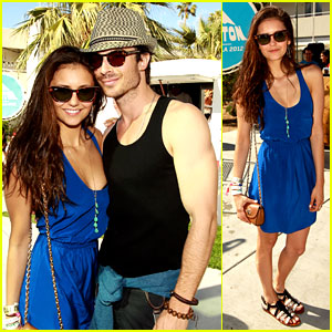 Nina Dobrev &#038; Ian Somerhalder: Coachella Couple!