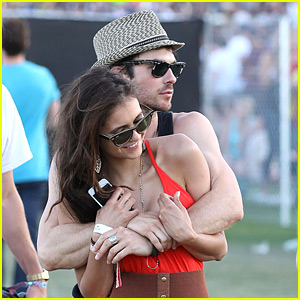 Nina Dobrev & Ian Somerhalder: Coachella Couple