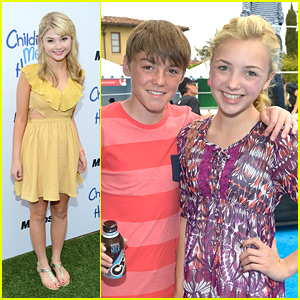 Peyton List & Stefanie Scott: Children Mending Hearts Event!