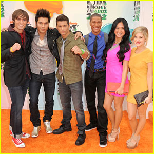 Alex Heartman: Power Rangers Samurai at KCAs 2012!