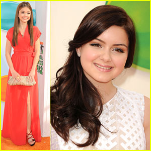 Sarah Hyland & Ariel Winter: Kids Choice Awards 2012