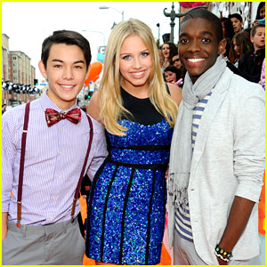 Gracie Dzienny, Ryan Potter & Carlos Knight: Kids Choice Awards 2012
