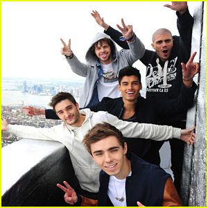 The Wanted Take Over America | The Wanted | Just Jared Jr.