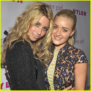 Aly &#038; AJ Michalka: Nylon Young Hollywood Party Pair