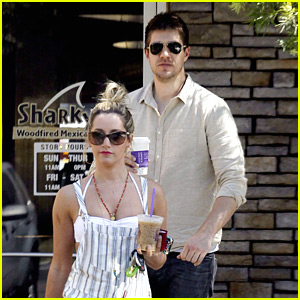 Ashley Tisdale & Scott Speer: Coffee Bean Couple