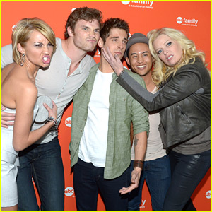 Chelsea Kane: 'Baby Daddy' at ABC Family Upfronts