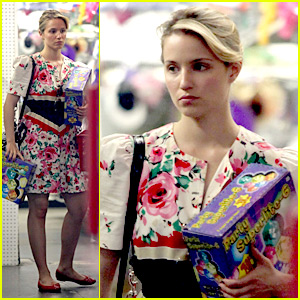 Dianna Agron: Party Store Shopper