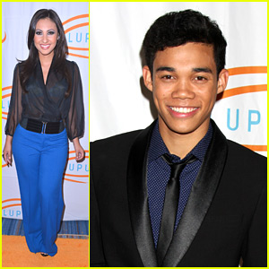 Francia Raisa & Roshon Fegan: Lupus LA Orange Ball