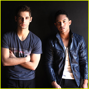 Jean-Luc Bilodeau & Tahj Mowry: JJJ Portrait Session Preview!