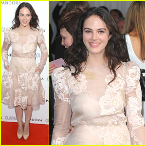 Jessica Brown-Findlay: Glamour Women of the Year Awards 2012