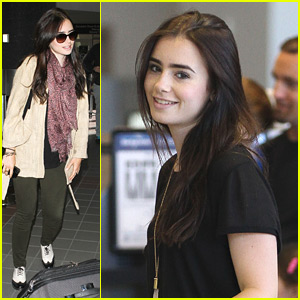 Lily Collins: Memorial Day Getaway