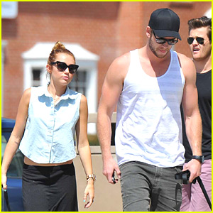 Miley Cyrus & Liam Hemsworth Rescue Another Dog!