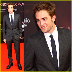 Robert Pattinson: 'Cosmopolis' Premiere in Germany