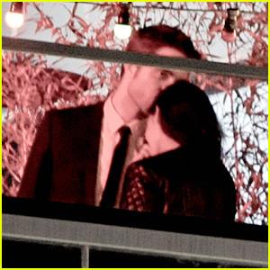 Robert Pattinson & Kristen Stewart: Rooftop Kisses in Cannes!