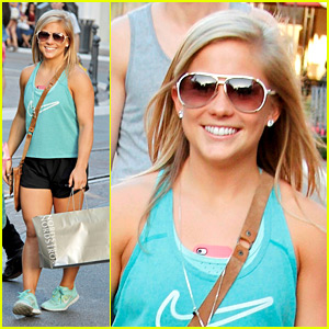 Shawn Johnson: Gymnast at The Grove