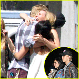 Vanessa Hudgens & Austin Butler: Bicycle Birthday Surprise!