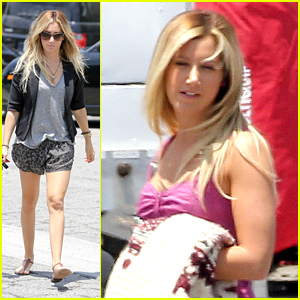 Ashley Tisdale: 'Sons of Anarchy' Set!