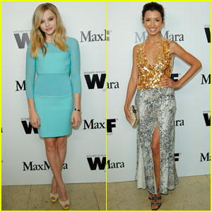 Chloe Moretz & India de Beaufort: Max Mara Dinner!