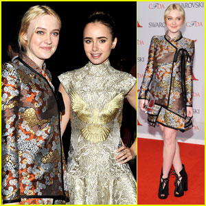 Dakota Fanning: CFDA Fashion Awards 2012