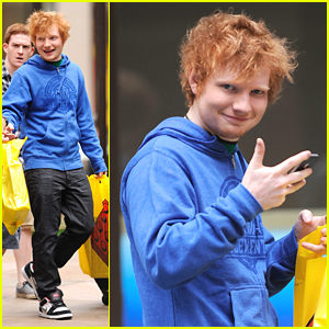 Ed Sheeran Shops Lego