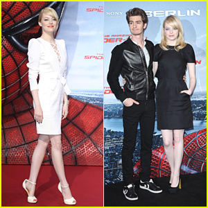 Emma Stone & Andrew Garfield: 'Spider-Man' Hits Berlin