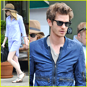 Emma Stone & Andrew Garfield: Cookshop Couple