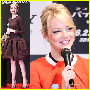 Emma Stone: 'The Amazing Spider-Man' Premiere in Tokyo!