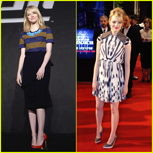 Emma Stone: 'Spider-Man' in South Korea!