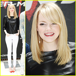 Emma Stone: 'Amazing Spider-Man' Photo Call!