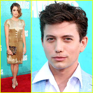 Nikki Reed: MTV Movie Awards 2012 with Jackson Rathbone