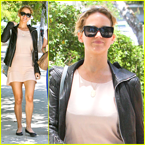 Jennifer Lawrence: Saturday at the Sheraton
