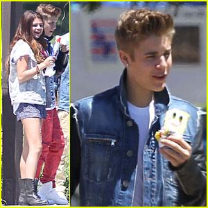 Justin Bieber: Bronco Burrito with Selena Gomez!