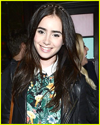 Lily Collins: Glamour Party!
