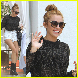 Miley Cyrus: Back To The Studio!