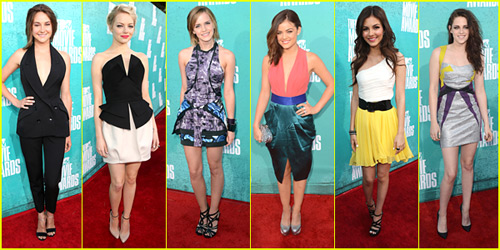 2012 MTV Movie Awards Best Dressed Poll!