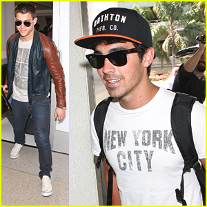 Nick &#038; Joe Jonas: Big Apple Bound