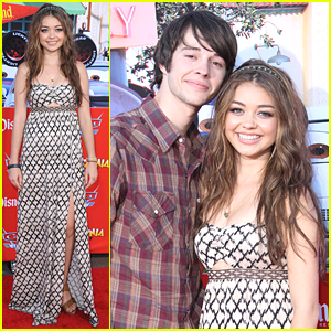 Sarah Hyland & Matt Prokop: Cars Land Couple