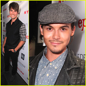 Tyler Blackburn & James Maslow: Nylon Party People