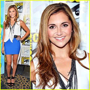 Alyson Stoner: 'Phineas & Ferb' at Comic Con 2012