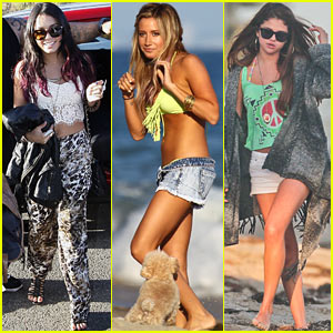Vanessa Hudgens &#038; Selena Gomez: Happy Birthday, Ashley Tisdale!