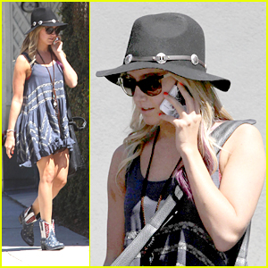 Ashley Tisdale: Recording Studio Session