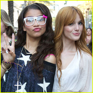 Bella Thorne & Zendaya: 'Shake It Up' Set Pics!
