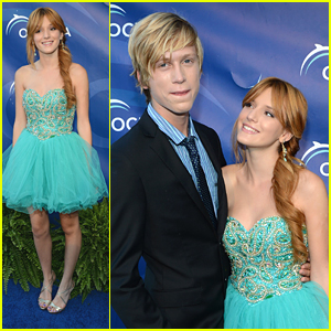 Bella Thorne & Tristan Klier: Oceana SeaChange Party Pair